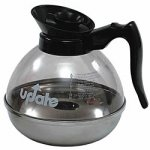 Update International Impact resistant coffee Decanter Blk 64 oz