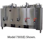 Grindmaster 7773E Twin 3 Gallon Pump Mid Line Coffee Urn