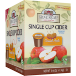 Grove Square Caramel Apple Cider K Cups Sugar Free 6 18 ct