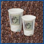Dixie 20 oz PerfecTouch Cups Coffee Dreams Design 500 ct