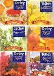 Tetley Black Tea Assortment Pack 6 boxes/20 per box MPN 5446