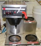 Wilbur Curtis Alpha III XR10 Automatic Coffee Brewer with Faucet