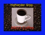 ARCO Highlander Grog Flavored Coffee 12 oz