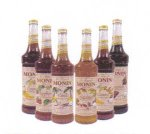 Monin Organic Chocolate Syrup case of 6/750ml (25.4oz) bottles