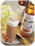 Monin Vanilla syrup plastic bottle 1 liter 1000 ml