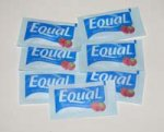 Equal Blue Sweetener - individual serving packets 100 ct