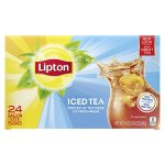 Lipton Choice Blend Iced Tea 1 oz pouches 4 to case/24 count