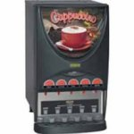 Bunn 37000.0020 IMIX 5S Hot Beverage Dispenser 5 8 lb Hoppers with top hinge door