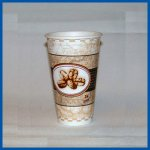 Dixie PerfecTouch Cups Beans Design 12 oz 1000 ct