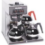 Bunn VP17-3 SS Stainless Steel Coffee Machine 3 lower warmers 13300.0003