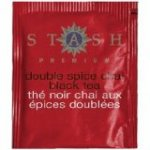 Stash Premium Double Spice Chai Black Tea bags 18 count