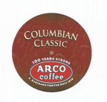 ARCO Colombian Classic for K-Cup brewers 13 count