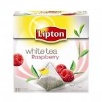 Lipton White Tea with Raspberry (Tea Bags) case