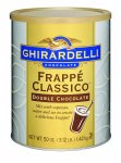 Ghirardelli Double Chocolate Frappe Classico 3.12 lb 6 ct Mfg 66200