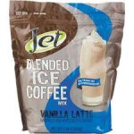 Jet Tea Iced Coffee Mix Vanilla Latte Flavor 4 ct 3lb bags
