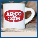 ARCO coffee Buffalo China Diner Mug restaurant quality 6 count