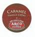 ARCO Caramel Vanilla Creme Coffee for K-Cup brewers 13 count