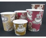 AC-8 Pacific Design Hot Paper Cups 8 oz 1000 ct