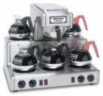 BUNN RT Automatic Coffee Brewer with 5 warmers 20835.0000