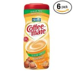 Coffee-Mate Hazelnut Sugar-Free Powdered Coffee Creamer 10.2 oz 6 ct