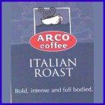 ARCO Italian Roast Coffee Trial Size 1.75oz(49.61g)