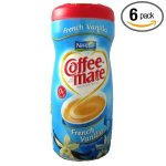 Coffee-Mate French Vanilla Powdered Coffee Creamer 15 oz 6 ct