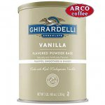Ghirardelli Premium Vanilla Flavored Powder Base, 3 Pound 6 count per case