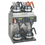 Bunn Axiom Twin Head Coffee Brewer 4 upper 2 lower warmers