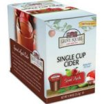 Grove Square Spiced Apple Cider K Cups Sugar Free 4 24 ct
