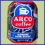 ARCO Supreme Dark Roast Coffee 2/12 oz 340.19 g twin packs