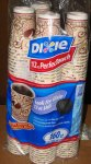 Dixie Perfectouch Beans Design 12 oz 160 ct
