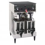 BUNN 20900.0011 Dual Portable Satellite Coffee Brewer 120/240V with Portable Servers