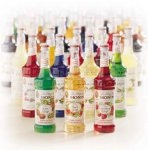 Monin Vanilla Syrup Plastic Bottle 4/1000ml(1 liter) 33.8 oz