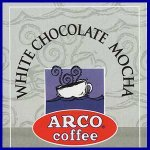 ARCO White Chocolate Mocha Flavored Coffee Trial Size 1.75 oz