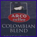 ARCO Colombian Blend Coffee 1.75 oz (49.61g) Trial Size