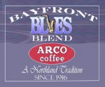 ARCO Bayfront Blues Festival Blend Decaf Coffee Ground 3lbs(1.36Kg)