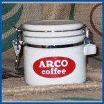 Ceramic ARCO Coffee Canister