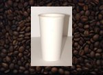 Dopaco White 12 oz Paper Hot Cups 1000 ct. 16997