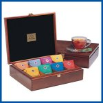 Stash 8 cell tea chest with 80 tea bags