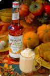 Monin Pumpkin Spice Syrup case of 4/1Liter(1000ml) Seasonal