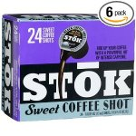 SToK Sweet Stok Coffee Shot 6-24-Count Single Servings