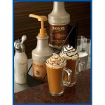 Monin Caramel Sauce 64 oz bottles 4 ct MPN M-GC009FP