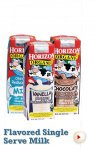 Horizon Organic Reduced Fat 1% Vanilla Milk single serve 8 oz 18 ct