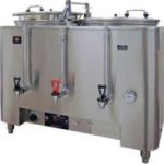 Grindmaster 81010E 42 gal hr Twin AMW Space Saver 10 Gal Urn