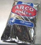 ARCO Original 1916 House Blend Drip Grind Coffee 10/16 oz bags