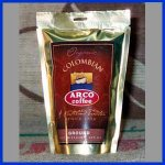 ARCO Colombian FAIR TRADE ORGANIC Coffee Trial Size 1.75 oz