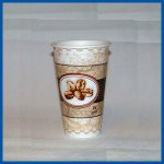 Dixie PerfecTouch Cups Beans Design 16 oz 1000 ct MPN 5356BE
