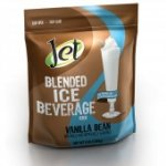 Jet Tea Iced Coffee Mix Vanilla Bean Flavor 3 lb bag 4 ct