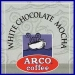 ARCO White Chocolate Mocha Flavored Coffee 12 oz(340.19 g)