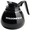 Bloomfield Coffee Decanter Glass Black Handle 12 cup 3 ct
